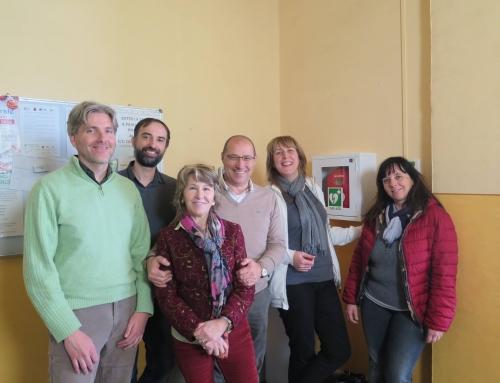Defibrillatori alla 01 Informatica Srl e Flora Toscana