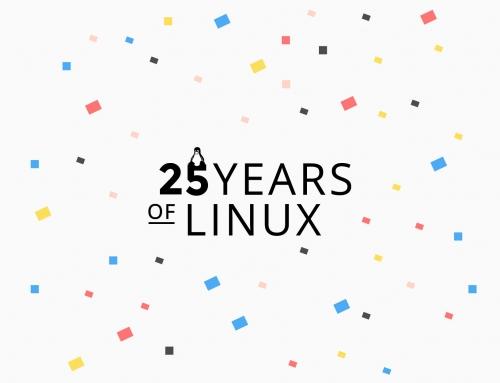 Célébrer les 25 premières années de Linux