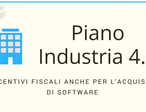 Industria 4.0 e agevolazioni per l'acquisto dei software aziendali