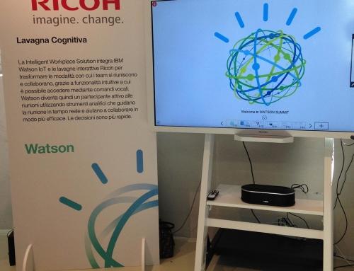 IBM e Ricoh insieme per creare la lavagna intelligente